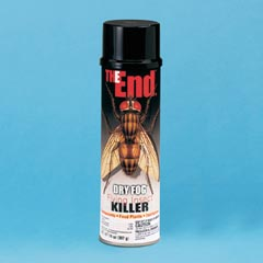 THE End.™ Dry Fog™ Flying Insect Killer