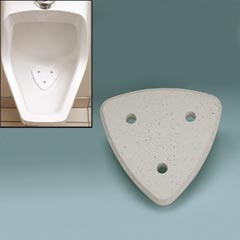 Chloroscreen™ Dissolvable Urinal Screen with Bleach