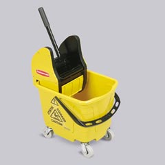 Compact Mop Bucket and Wringer Combo