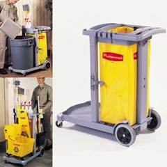 Compact Cleaning Cart