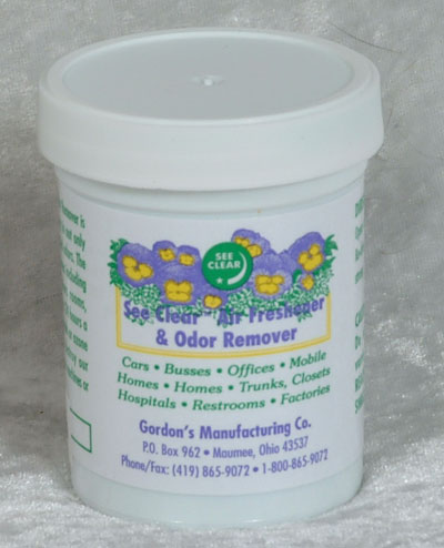 Air Freshener and Odor Remover Gel - 4 oz.